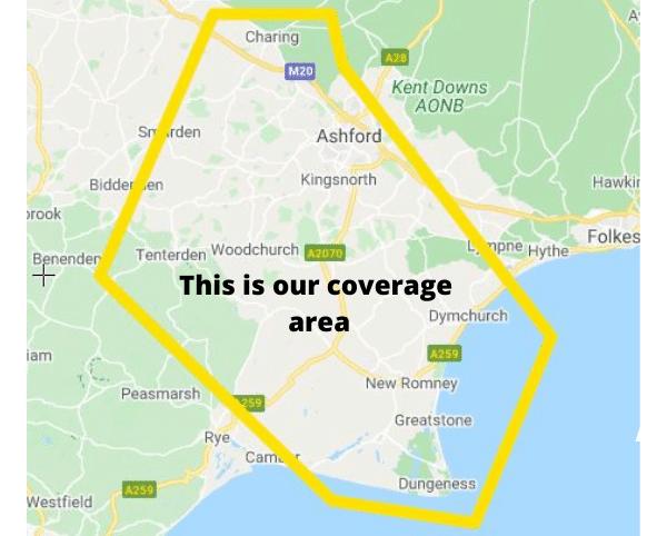 Coverage area 2021